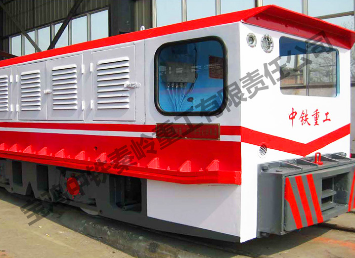 吴江ZTY80/600E(S)矿用柴油机牵引机车